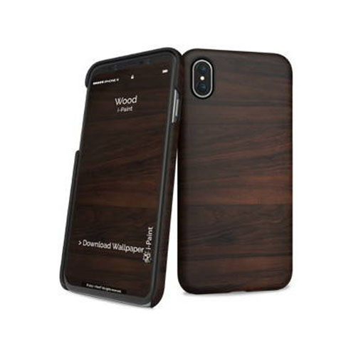 i-Paint Wood Ultra Slim Case για Apple iPhone X / iPhone XS