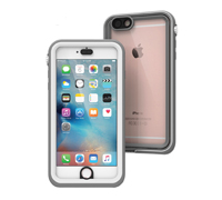 "Catalyst Case With TouchID WaterProof (5m), DirtProof (6x), SnowProof, ShockProof (2m) White/Grey για iPhone 6 / 6S Plus (5.5"")"