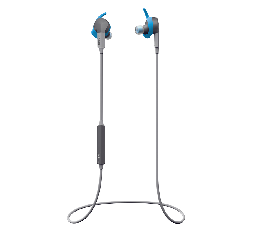 Jabra Sport Coach Wireless In-ear Earbuds for Training + TrackFit Motion Sensor + Dolby Sound + Training App + IP55 + Multipoint