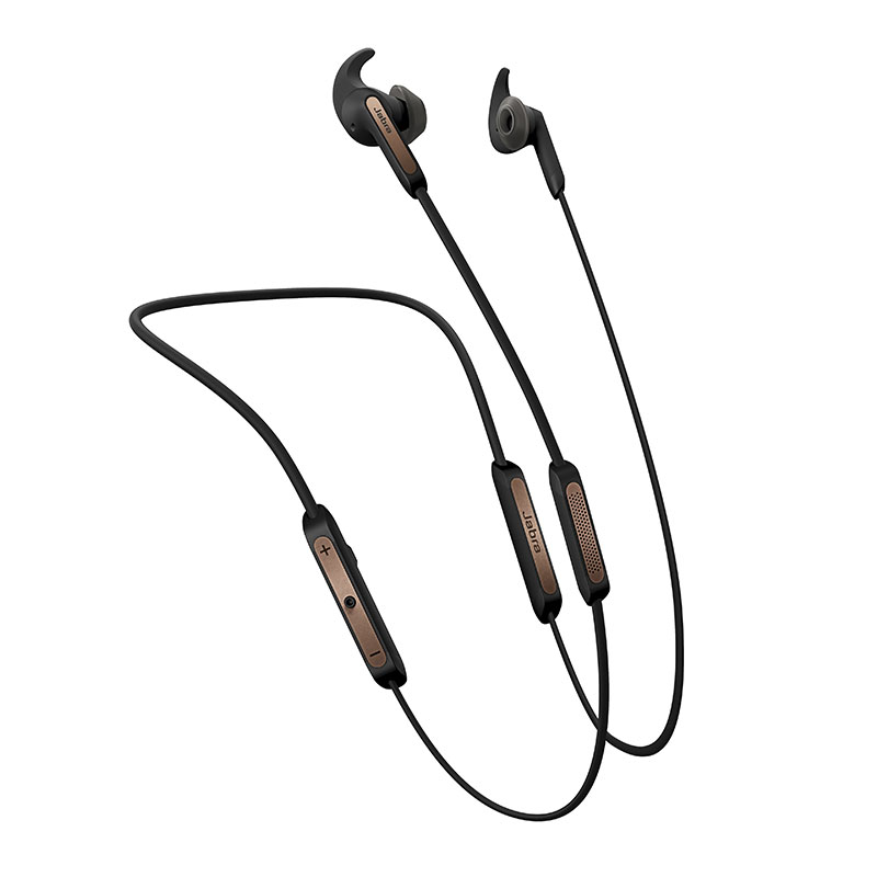 Jabra Elite 45e Bluetooth Stereo Headset Copper Black