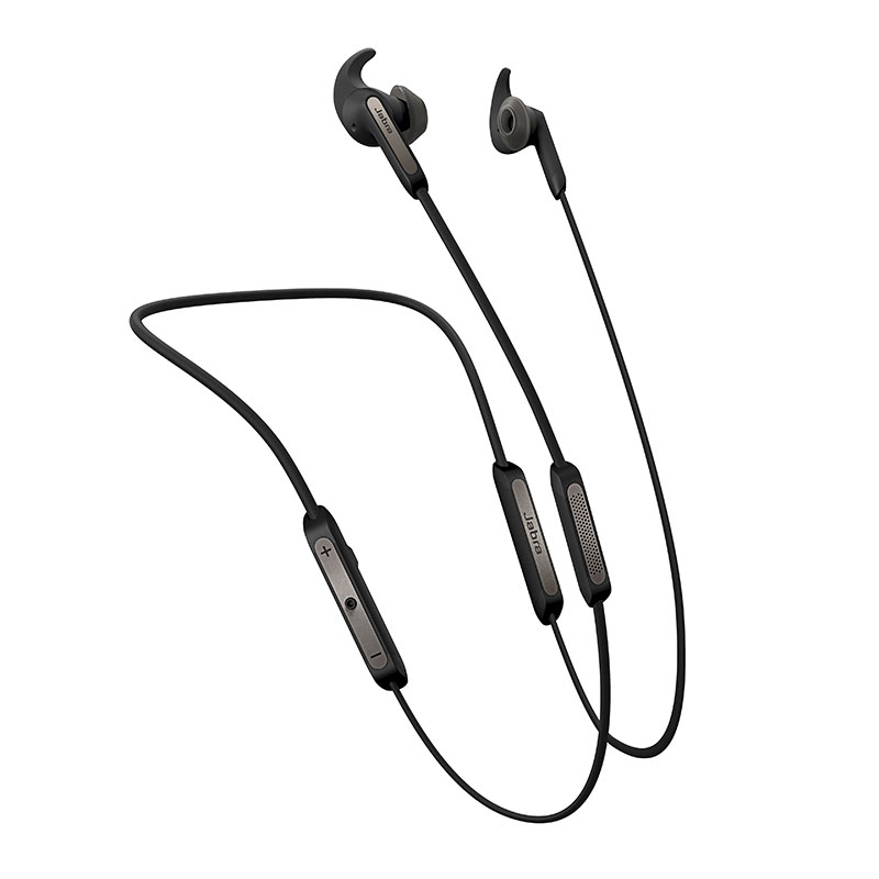 Jabra Elite 45e Bluetooth Stereo Headset Titanium Black
