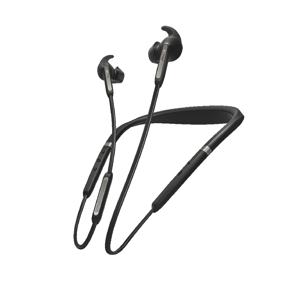 Jabra Elite 65e Bluetooth Stereo Headset Titanium Black