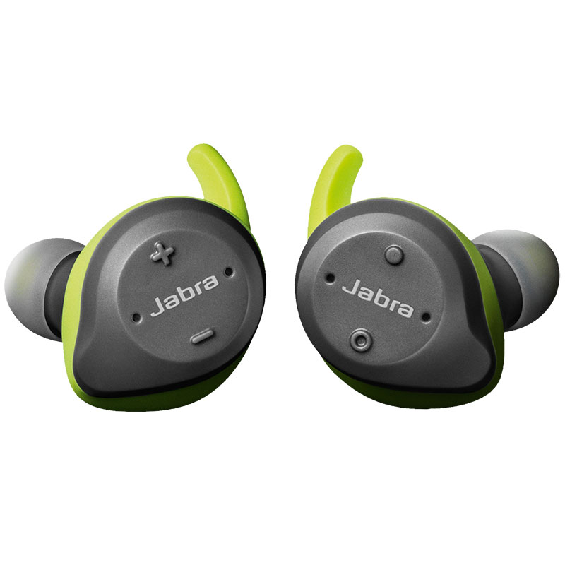 Jabra Sport Elite True Wireless Sports Earbuds Grey Green + Portable Charging Case (Δίνοντας 9.5 ώρες ομιλίας εξτρά!)