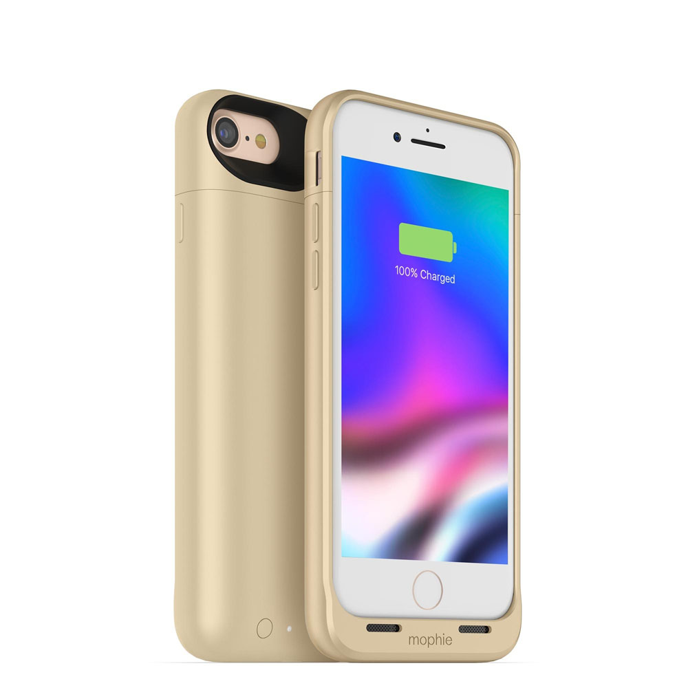 "Mophie Juice Pack Air Case With Battery (2525mAh) για iPhone iPhone 7 & 8 (4.7"") Gold (100% έξτρα μπαταρία)"