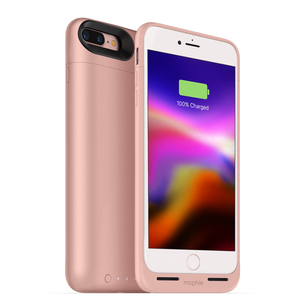 "Mophie Juice Pack Air Case With Battery (2420mAh) για iPhone iPhone 7 & 8 Plus (5.5"") Rose Gold (85% έξτρα μπαταρία)"