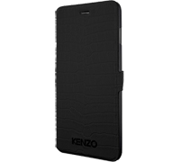 "Kenzo Croco Leather & Stand Case για iPhone 6 / 6S (4.7"") Croco Black"