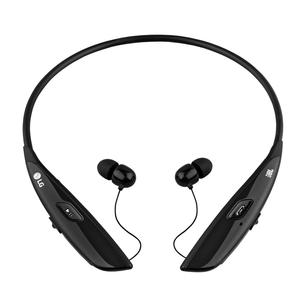 LG HBS-810 TONE Ultra Premium Bluetooth Stereo Headset Black (με αναδιπλούμενο καλώδιο)