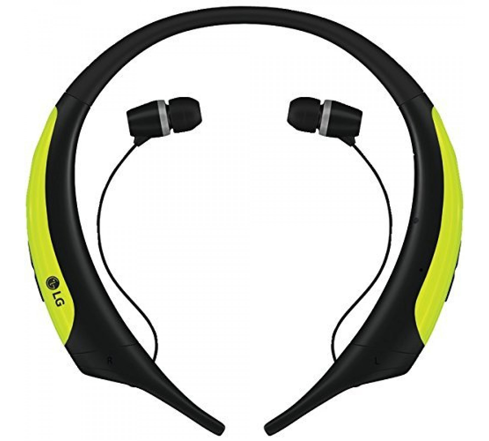 LG HBS-850 TONE Active Premium Bluetooth Stereo Headset Lime (Water & Sweat Resistant με αναδιπλούμενο καλώδιο)