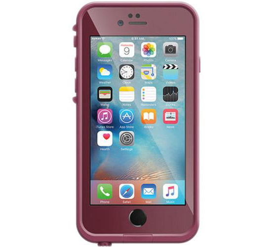 "LifeProof Fre With TouchID WaterProof, DirtProof, SnowProof, ShockProof Case Redline Red για iPhone 6 (4.7"") 77-50339S"
