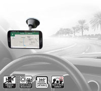 Scosche MagicMount Window: Magnetic Mount για Κινητά, Smartphones, Tablets, MP3, GPS κ.λπ.