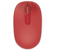 Microsoft Wireless Mobile Mouse Red 1850