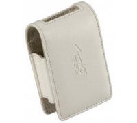 Mio Leather Carry Case LC610 White για Smartphone, PDA, PNA, GPS, Digital Cameras & Κινητά Τηλέφωνα