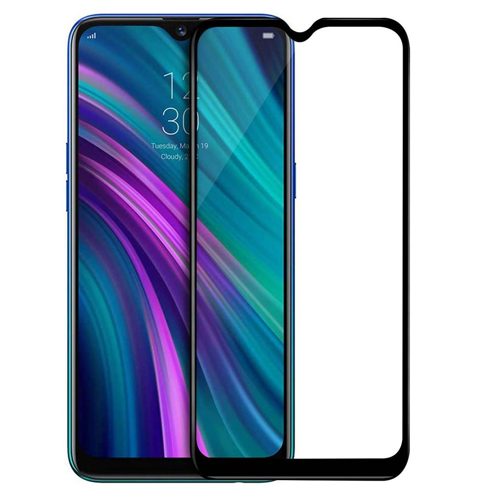 Mocolo 3D Full Face Tempered Glass 9H Black για Realme 5