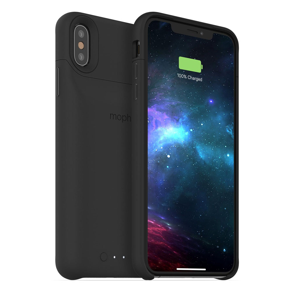 Mophie Juice Pack Access Case With Battery (2200mAh) για iPhone XS Max Black (100% έξτρα μπαταρία)