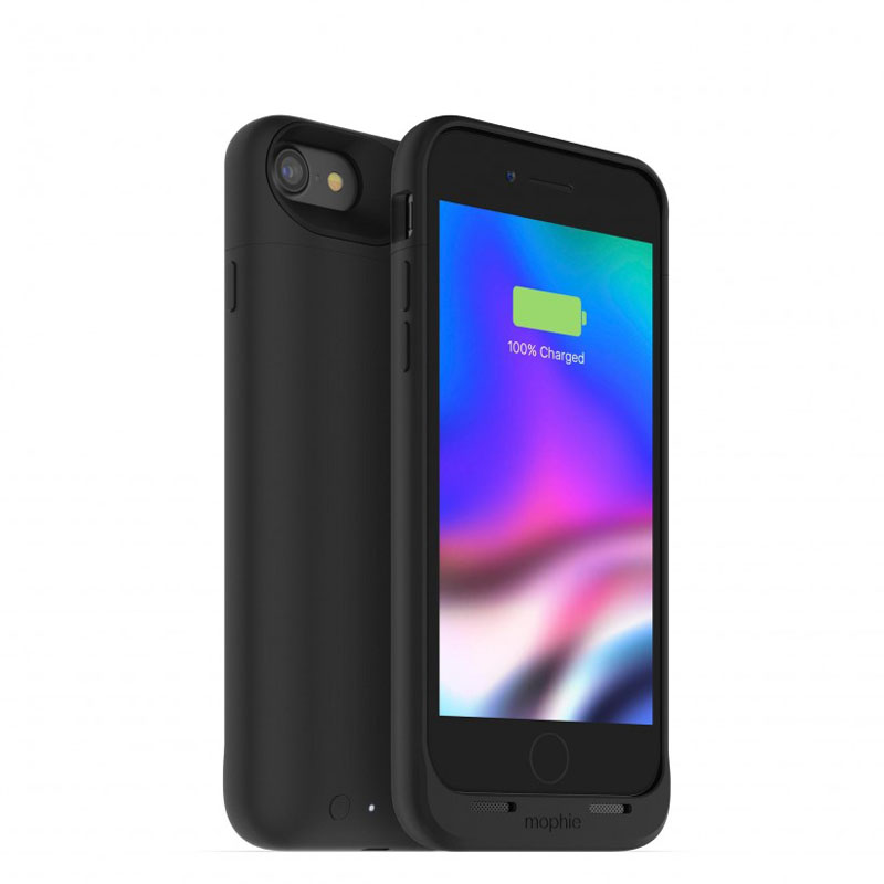 "Mophie Juice Pack Air Case With Battery (2525mAh) για iPhone iPhone 7 & 8 (4.7"") Black (100% έξτρα μπαταρία)"