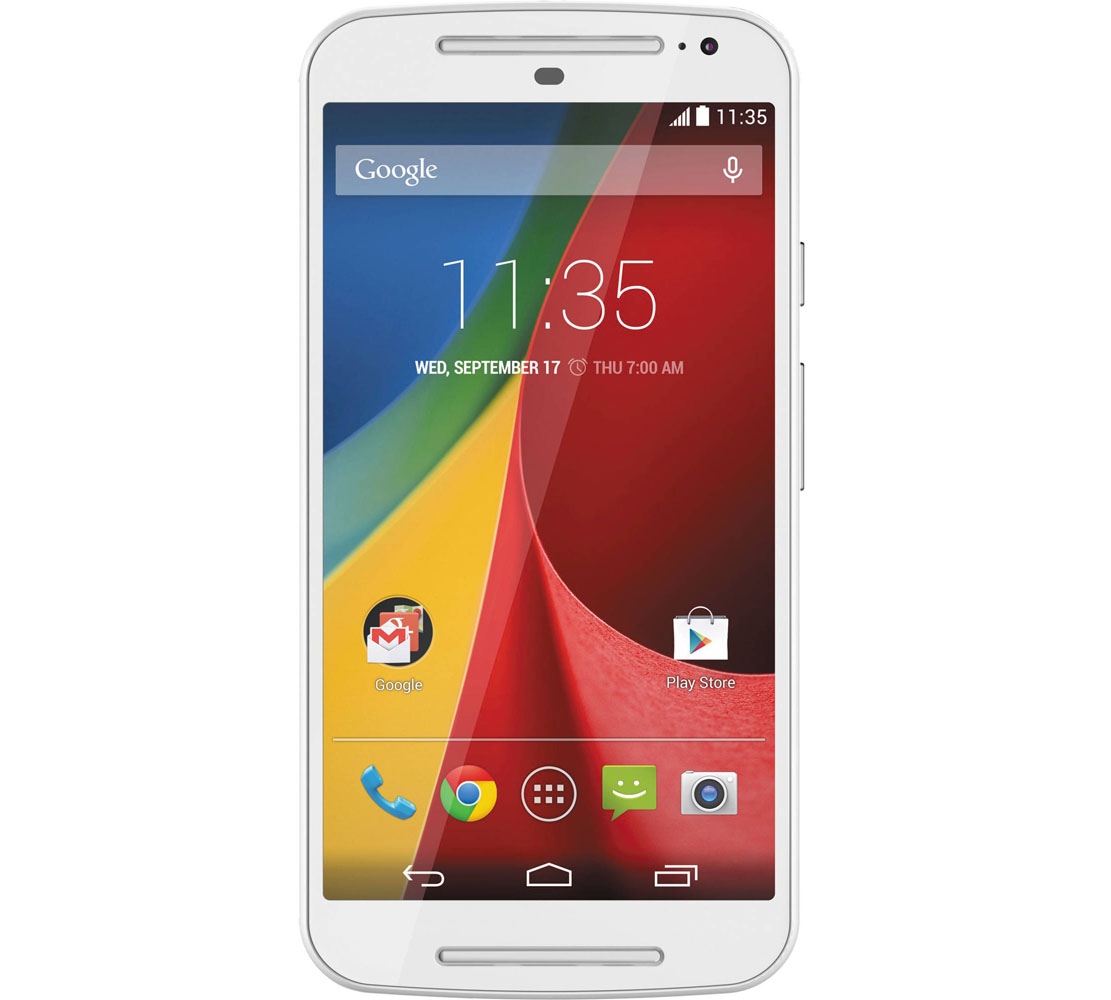 Motorola XT1068 Moto G 2nd Gen Dual Sim White (Refurbished) (με εγγύηση 12 μήνες ακόμη)!!!