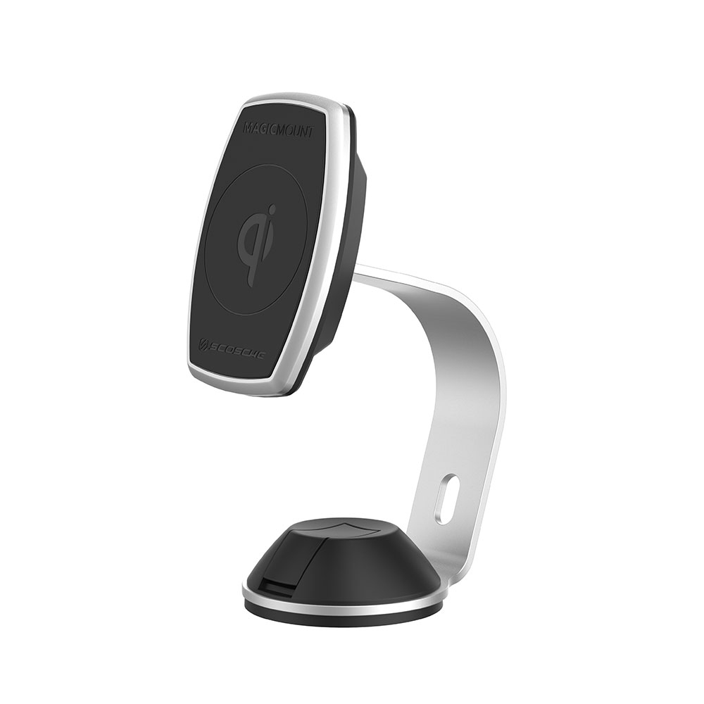 Scosche MagicMount Pro Charge Home/Office MPQ2OH-XTSP5: Magnetic Mount Stand + Wireless Fast Charging για Smartphones/Tablets