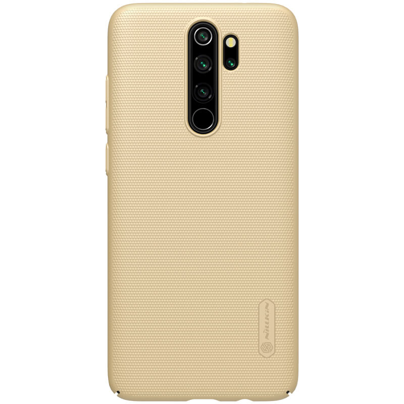 Nillkin Super Frosted Shield για Xiaomi Note 8 Pro Gold + Δώρο Universal Mobile Stand