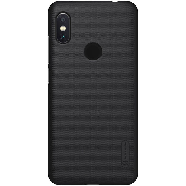 Nillkin Super Frosted Shield για Xiaomi Redmi Note 6 Pro Black + Δώρο Universal Mobile Stand