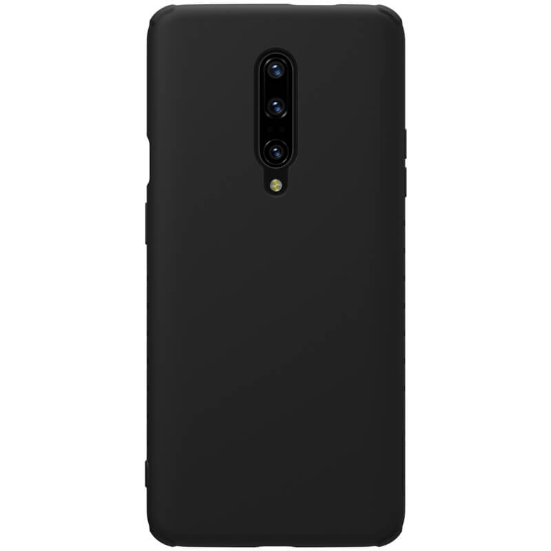 Nillkin Protective Case Rubber / Wrapped για Oneplus 7 Pro Black