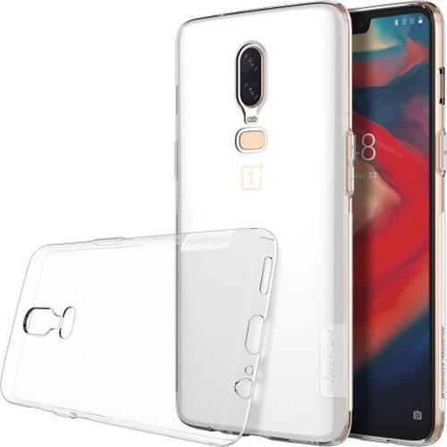 Nillkin Nature TPU Case 0.6mm για Oneplus 6 Clear