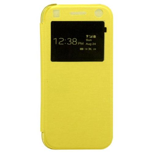 NortonLine Flip S-View Cover Case για HTC One Mini 2 Yellow
