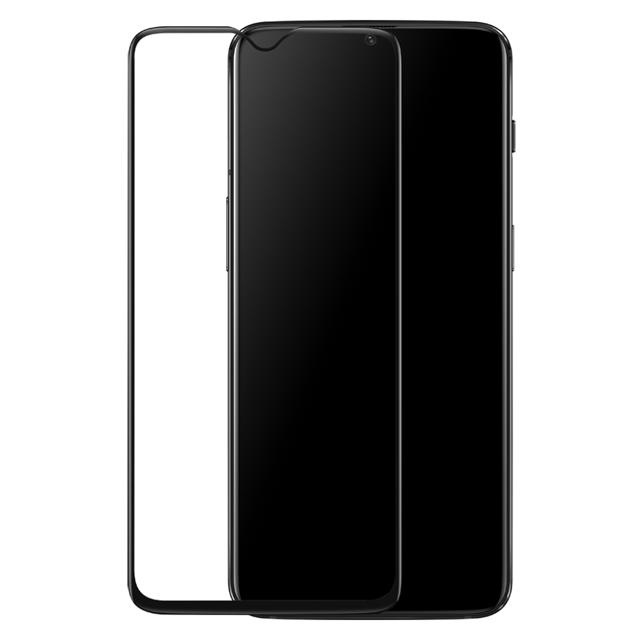 Oneplus 3D Premium Full Face & Curved Tempered Glass Protector για Oneplus 6T/7 Black