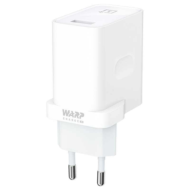 OnePlus (WC0506A3HK) AC Adapter 6A USB With Warp Charge (30) White