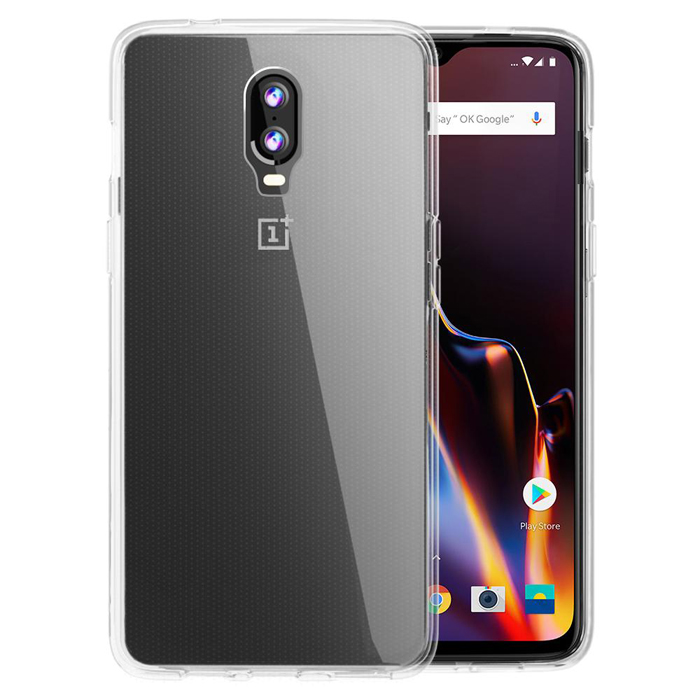 Orzly Flexicase Cover Case (TPU) για Oneplus 6T Clear