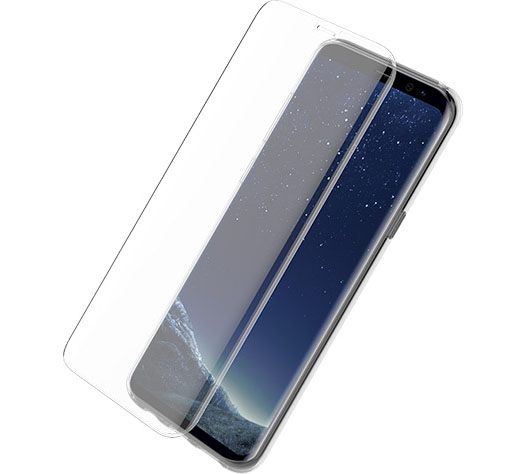 Otterbox (77-54819) Full Face Alpha Glass Protector για Samsung SM-G955F Galaxy S8+ (Plus) Clear (εύκολη τοποθέτηση!!!)