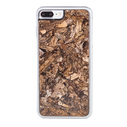 "Phee Protective Case With Seagrass για Apple iPhone 7 & 8 Plus (5.5"") Clear"