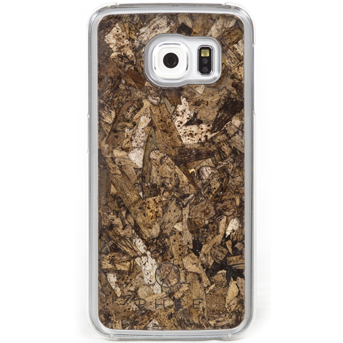 Phee Protective Case With Seagrass για Samsung SM-G925F Galaxy S6 Edge Clear
