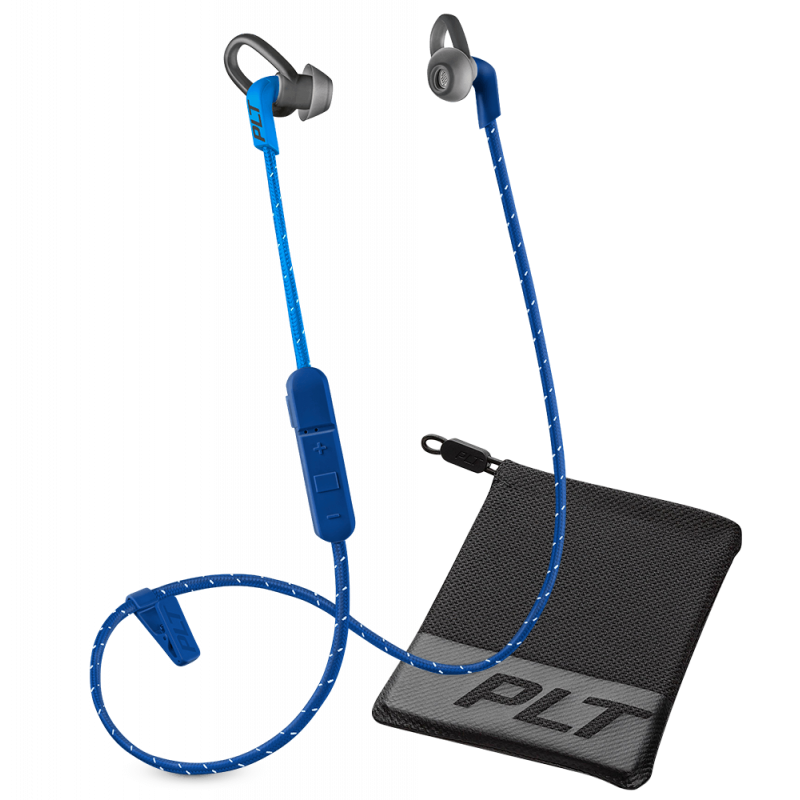 Plantronics BackBeat Fit 305 Stereo Bluetooth Headphones Dark Blue/Blue + θήκη μεταφοράς