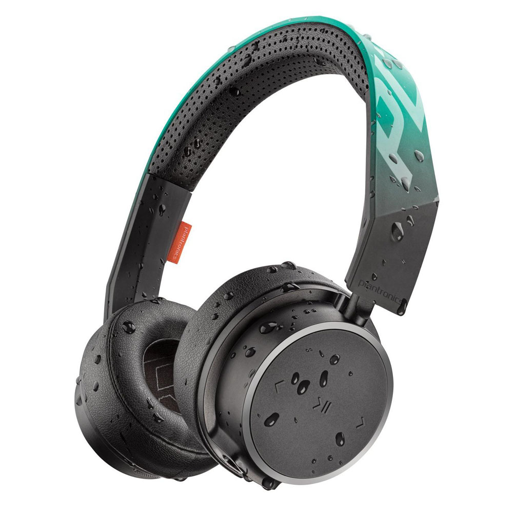 Plantronics Backbeat Fit 500 Bluetooth Sport Headphones Teal + Mic/Remote + 40mm Driver + Αυτονομία 18 ωρών