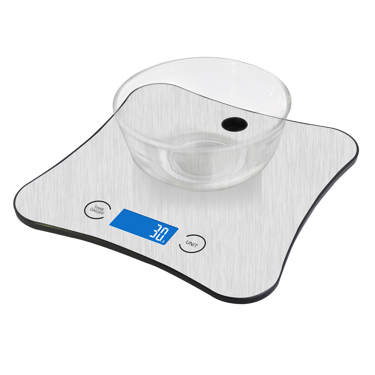 Platinet PNKS18 Smart Kitchen Scale | Bluetooth | Free Android & iOS App | LCD Display | Βάρος, Θερμίδες & Θρεπτικά Συστατικά