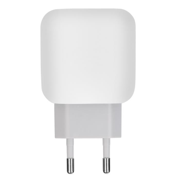 PowerOn CH-80 USB Wall Charger με υποστήριξη Quick Charge QC3.0 White: Φορτιστής Ρεύματος με θύρα USB