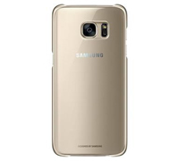 Samsung EF-QG930CFE Clear Cover Case για SM-G930F Galaxy S7 Gold