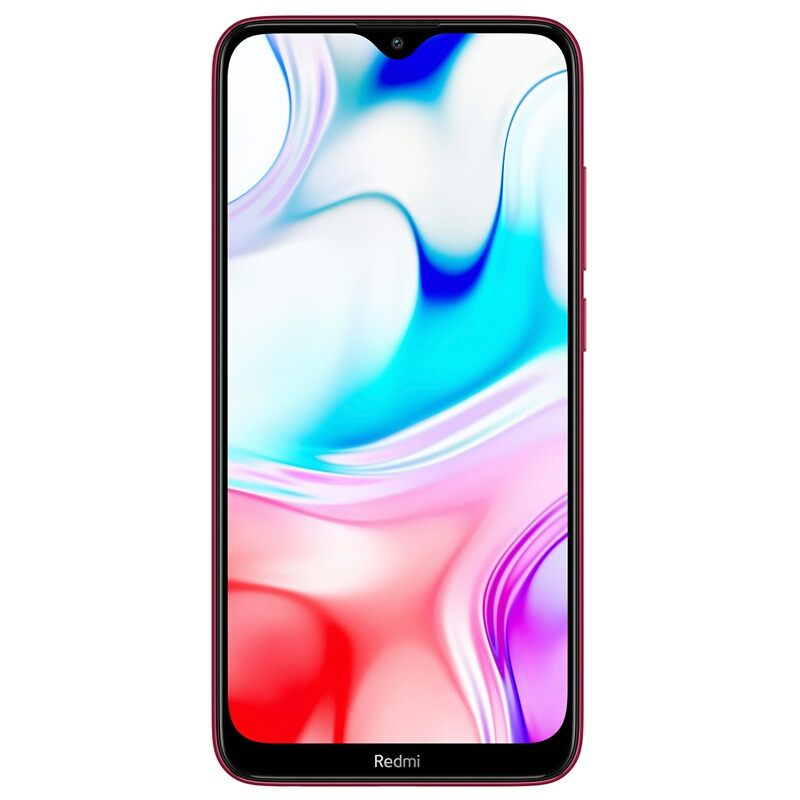 Xiaomi Redmi 8, Dual Sim, 32GB & 3GB RAM, 4G Android Smartphone Ruby Red (Global Version)
