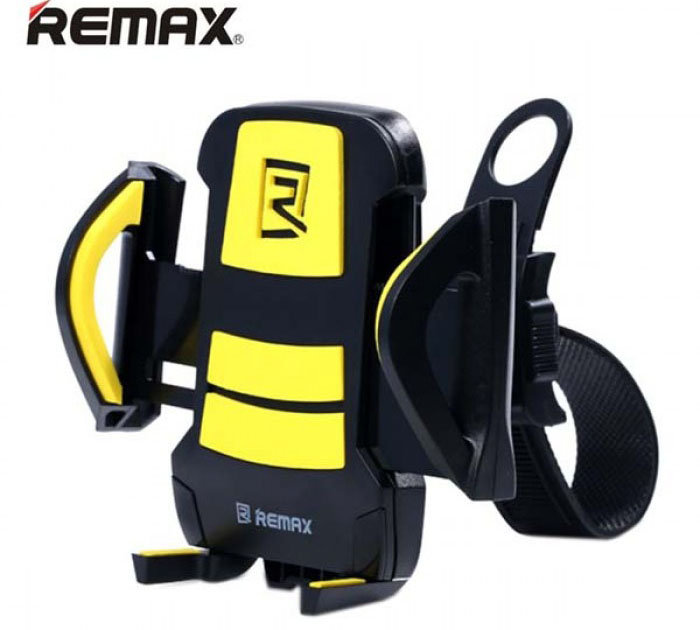 Remax RM-C08 Black-Yellow Bike & Bicycle Holder για Κινητά, Smartphones, MP3/MP4 Player, PDA, PNA, iPhone, iPod