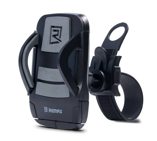 Remax RM-C08 Black-Grey Bike & Bicycle Holder για Κινητά, Smartphones, MP3/MP4 Player, PDA, PNA, iPhone, iPod
