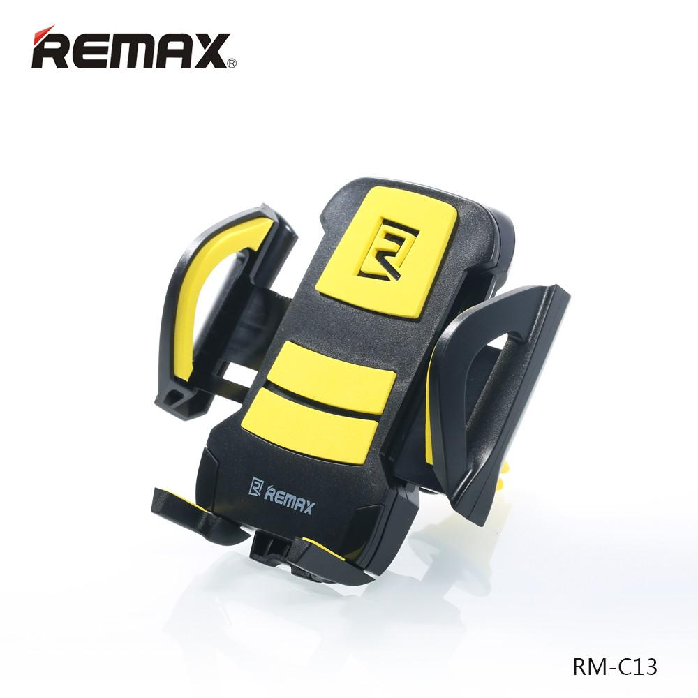 Remax RM-C13 Black/Yellow Universal Airvent Car Holder για Κινητά, Smartphones, MP3/MP4 Player, PDA, PNA, iPhone, iPod