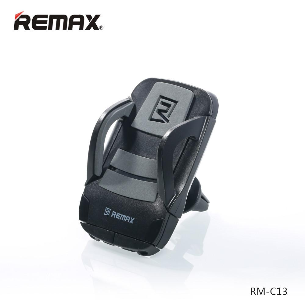 Remax RM-C13 Black/Grey Universal Airvent Car Holder για Κινητά, Smartphones, MP3/MP4 Player, PDA, PNA, iPhone, iPod