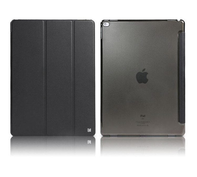 "Remax Jane Case (Book, Stand & Pocket) Black για Apple iPad Pro (12.9"")"