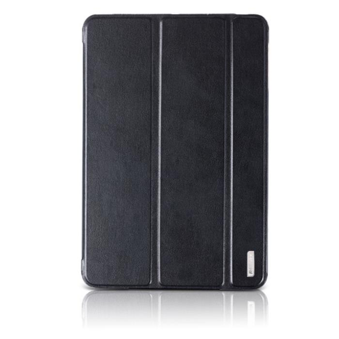 Remax Leather Case (Book, Stand & Pocket) Black για Apple iPad Mini 1,2 & 3