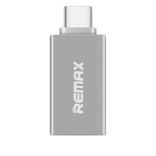 Remax RA-OTG1 Silver Type-C On-The-Go USB Host OTG Adapter