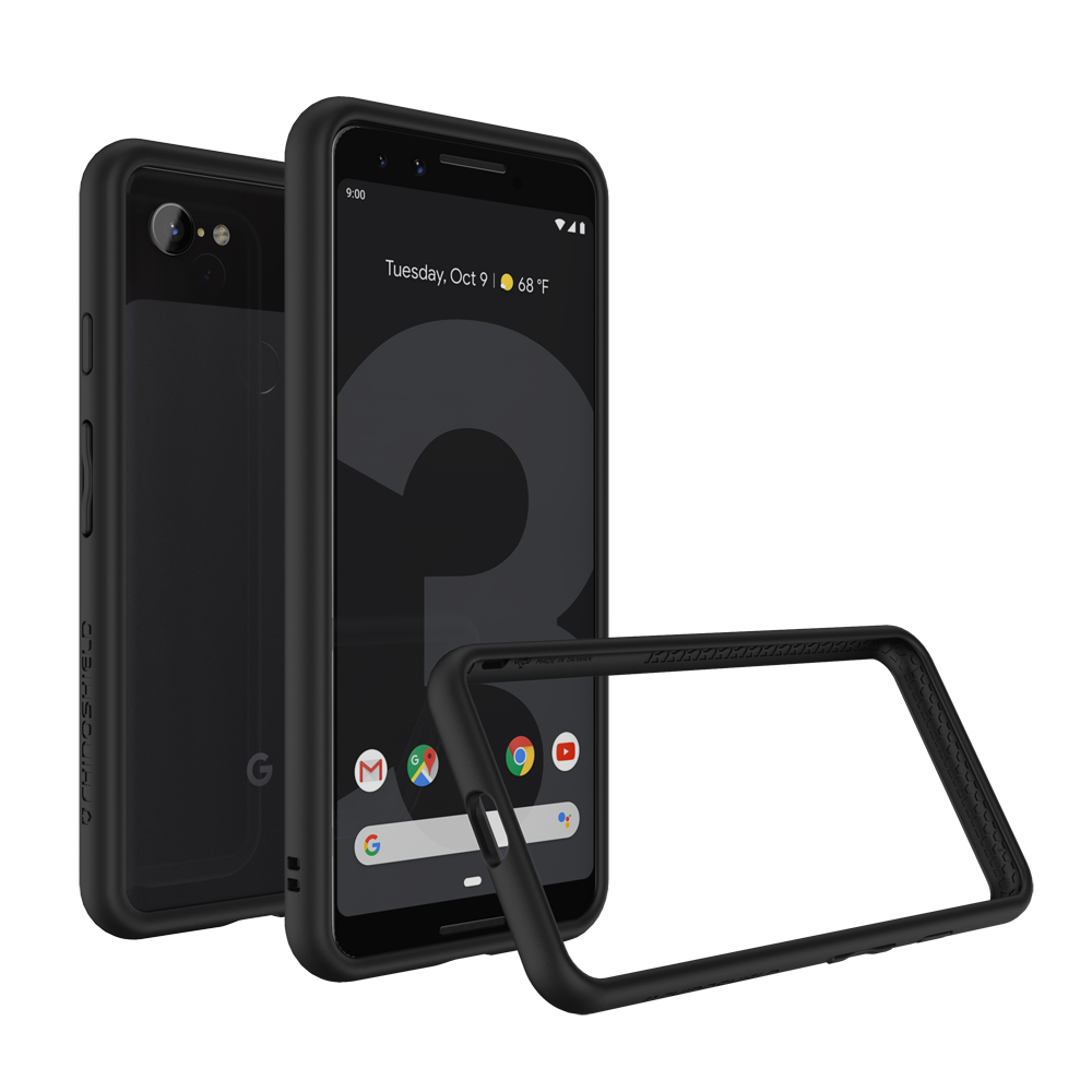 RhinoShield Crash Bumper Case για Google Pixel 3 Black