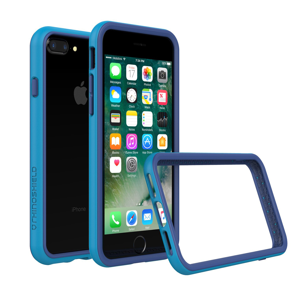 "RhinoShield Crash Bumper Case για Apple iPhone 7 & 8 Plus (5.5"") Blue"