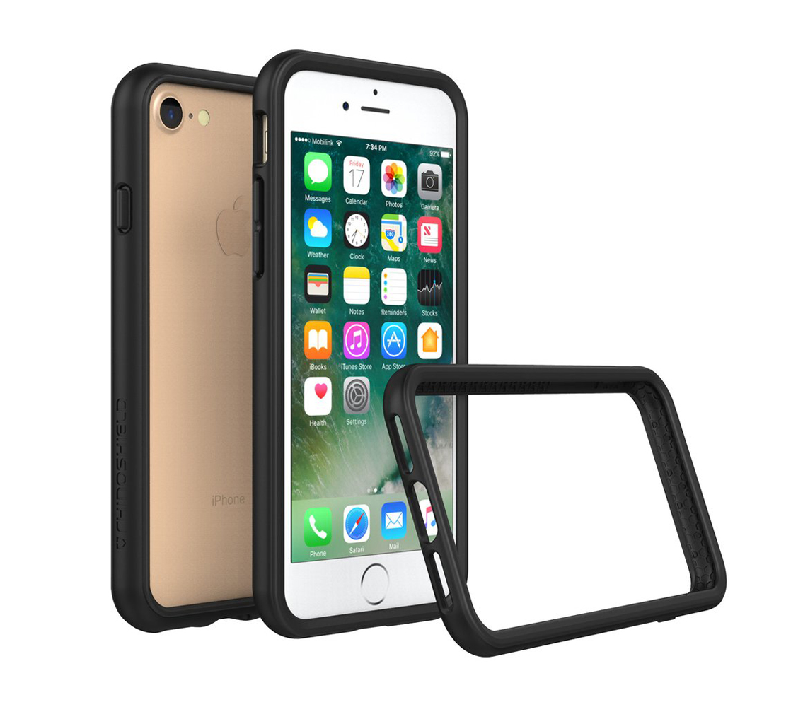 "RhinoShield Crash Bumper Case για Apple iPhone 7 (4.7"") Black"