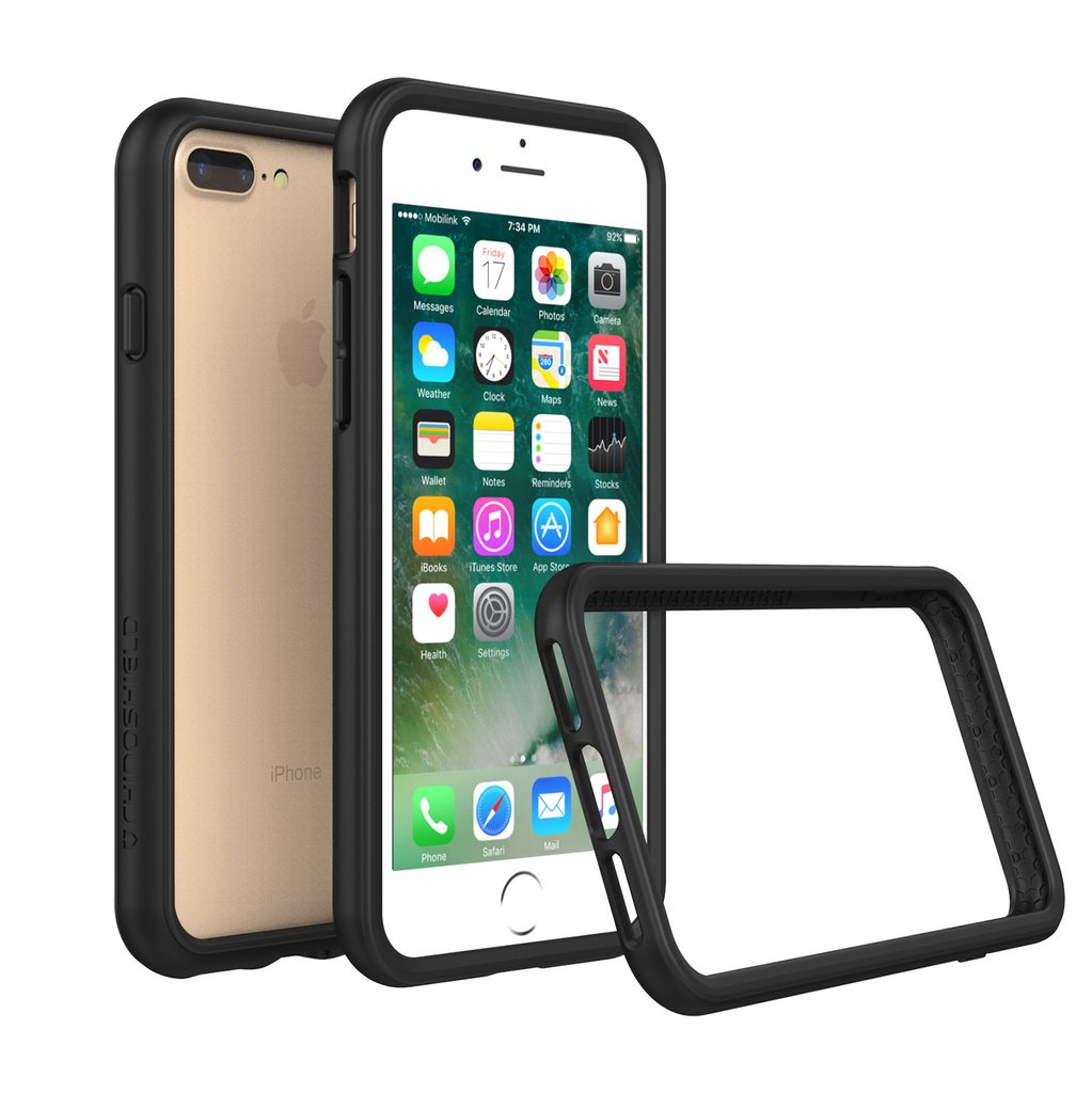"RhinoShield Crash Bumper Case για Apple iPhone 7 Plus (5.5"") Black"