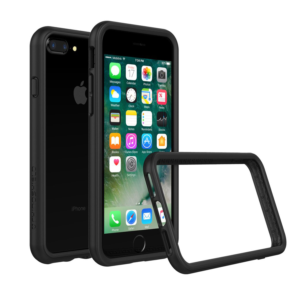 "RhinoShield Crash Bumper Case για Apple iPhone 8 Plus (5.5"") Black"